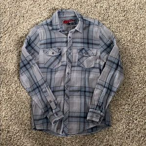 Other - GREY AND BLUE FLANNEL